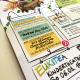 Handlettering und Illustration Kulturina Programmheft