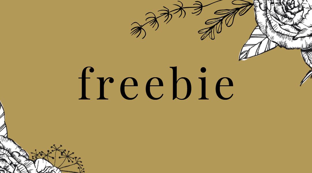 Freebies, Wallpaper und Co für Dich!