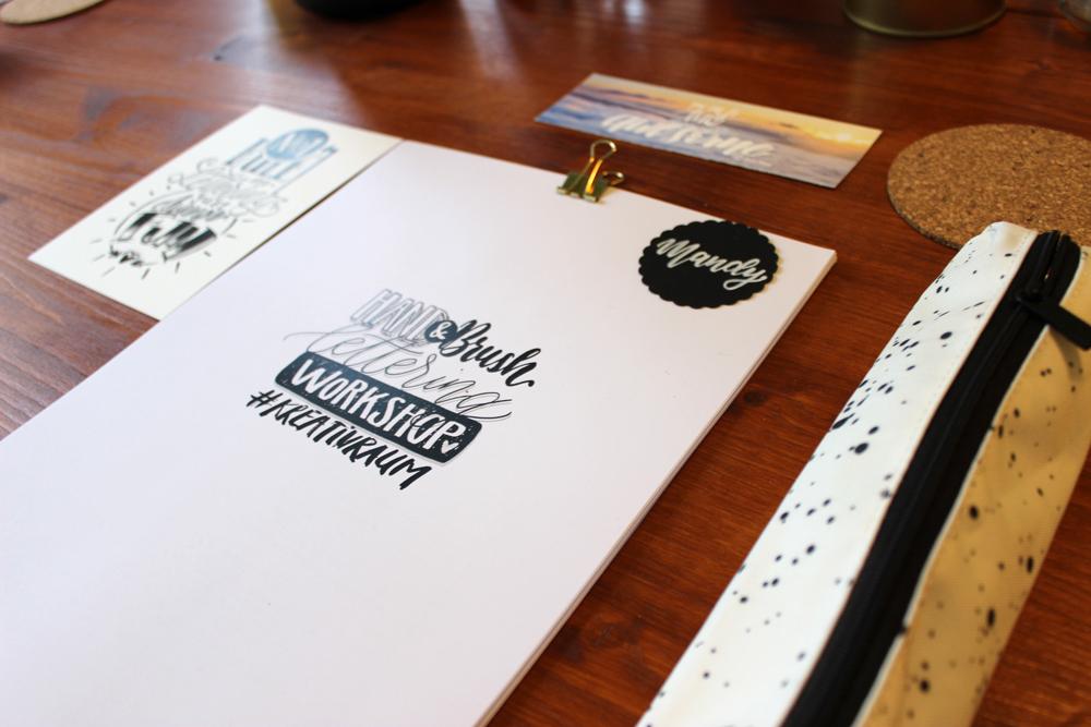 workshop lettering emma mendel Augsburg