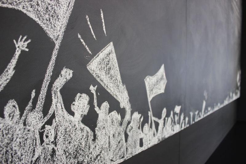 Swa tafel lettering kreide chalklettering illustration emma mendel