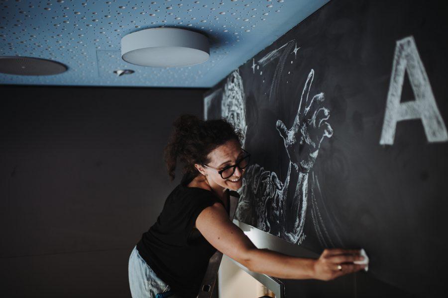 Swa tafel lettering kreide chalklettering emma mendel