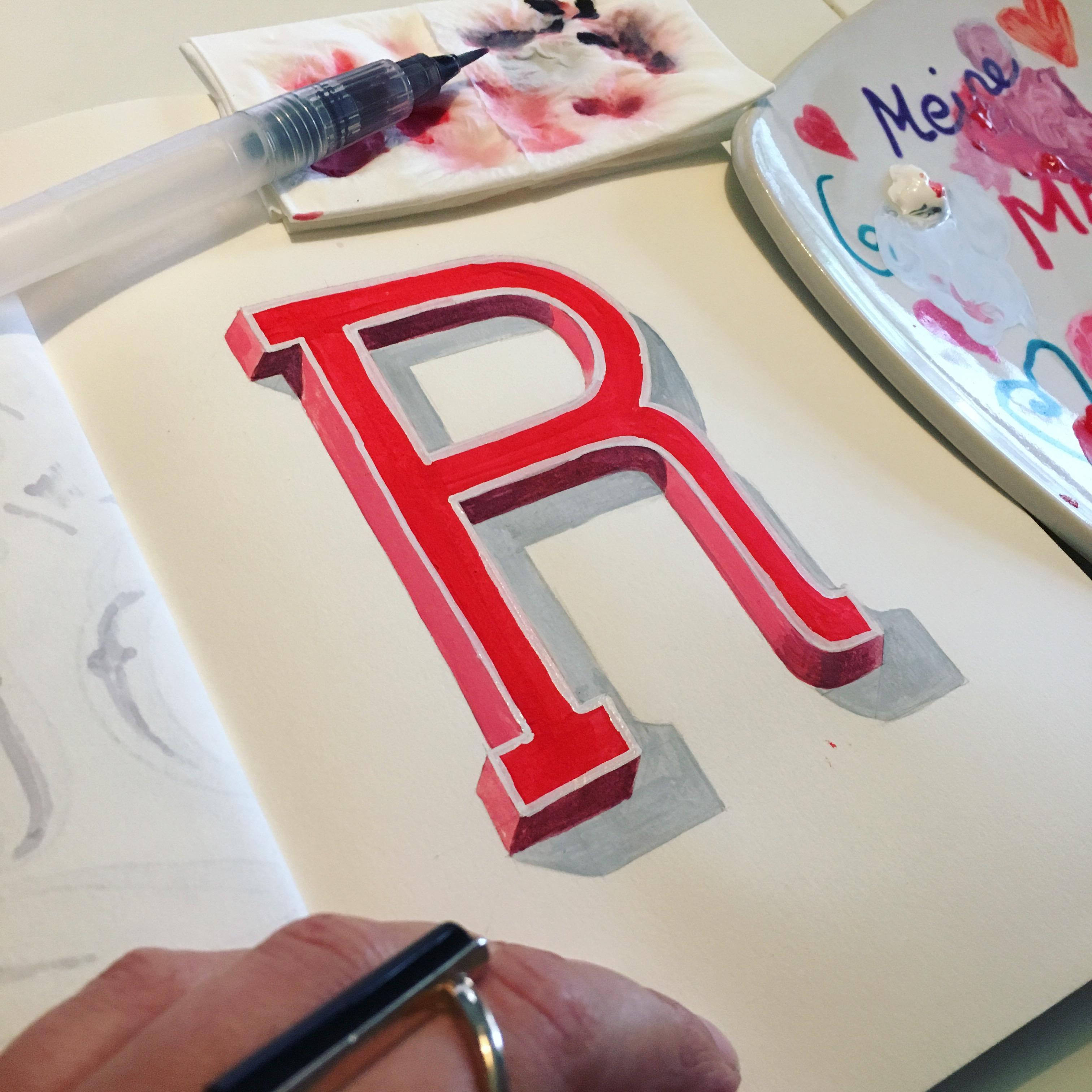 lettered Lettering Emma Mendel