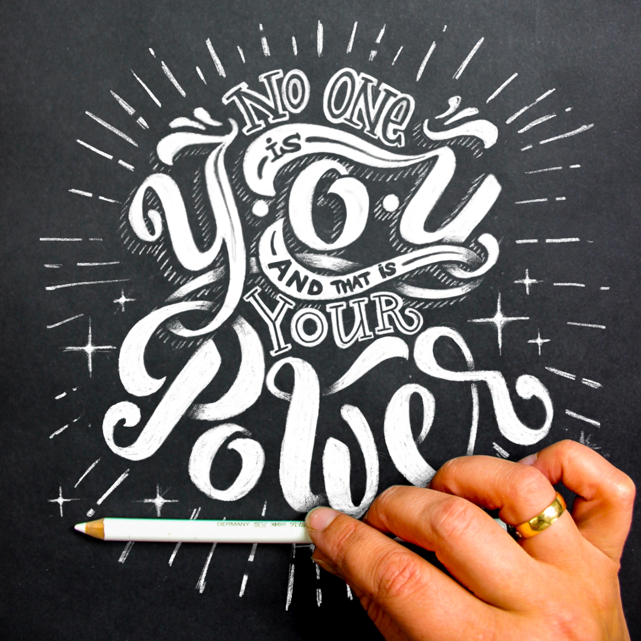 emma mendel n zone is you lettering hand lettering