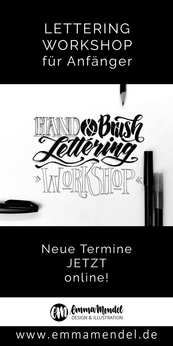 lettering workshop Emma mendel