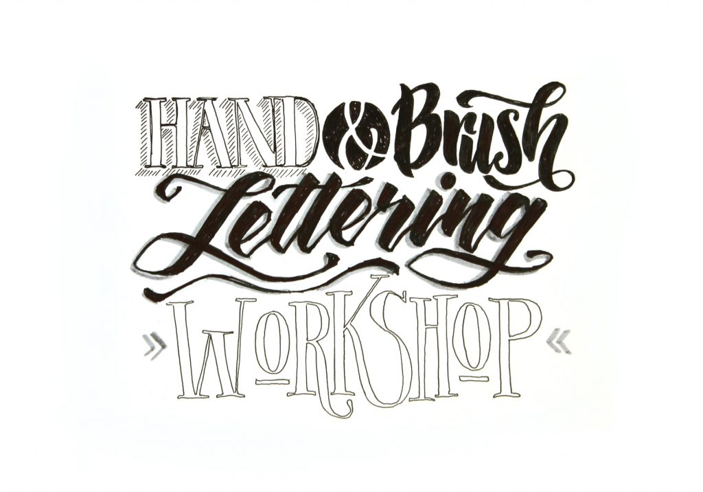 lettering workshop Emma mendel für Anfänger