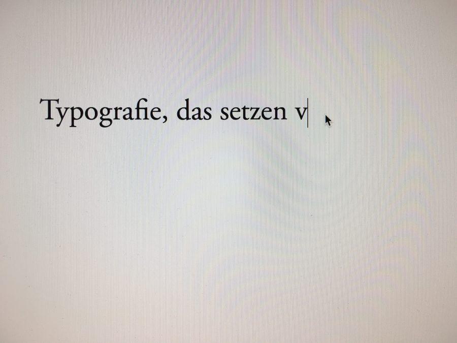 typografie typo emma mendel