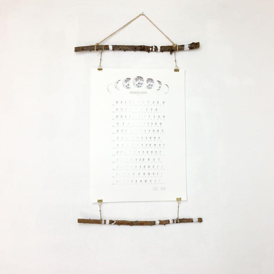 Bohamian boho style posterleisten handmade
