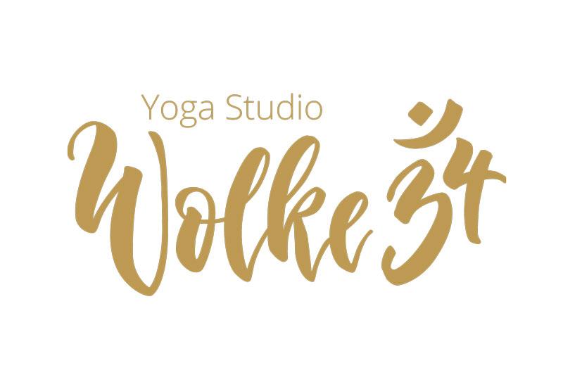 wolke34 logo Logoentwicklung Handlettering brushlettering Corporate Design
