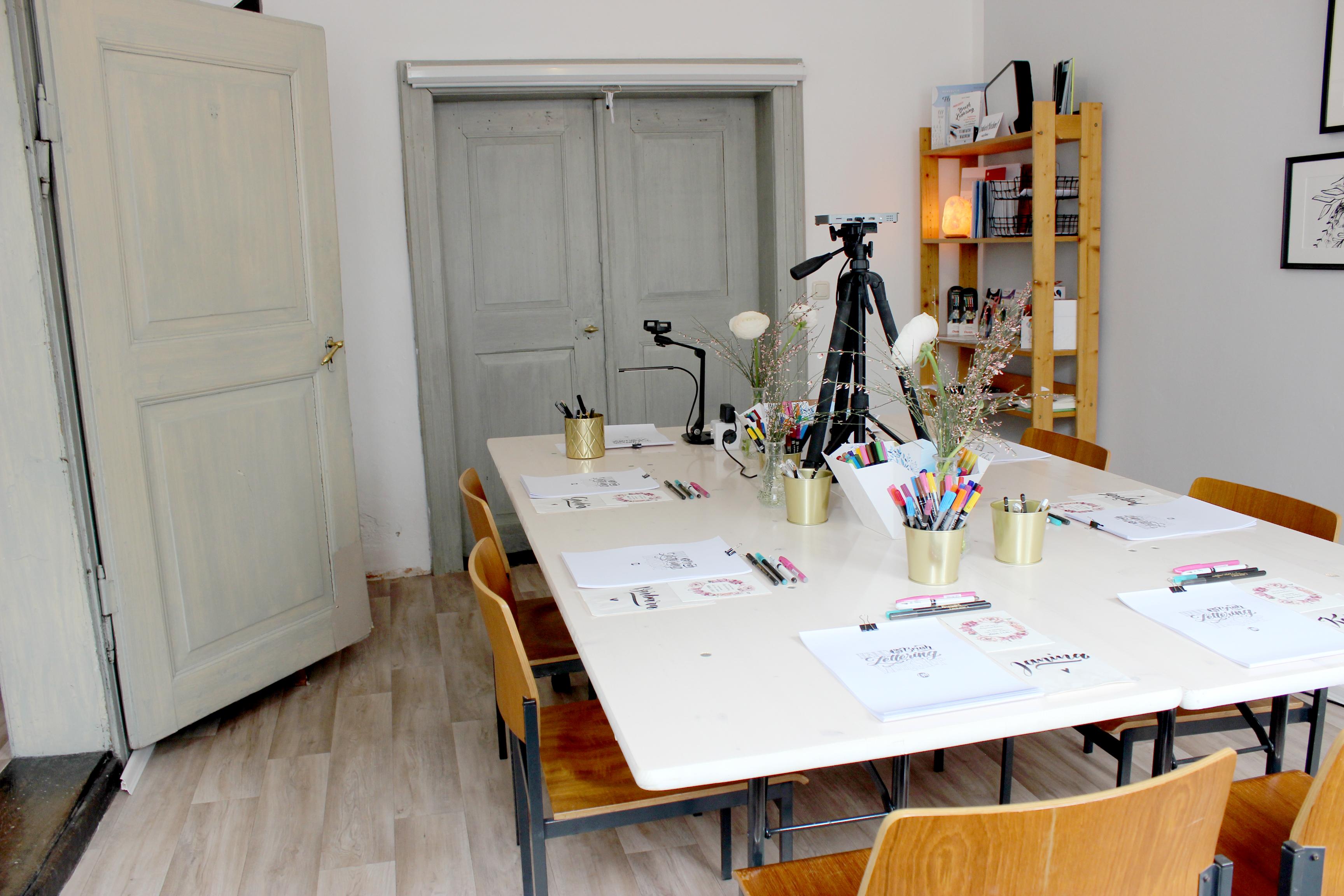 Hand Lettering Workshop Kalligrafie Augsburg