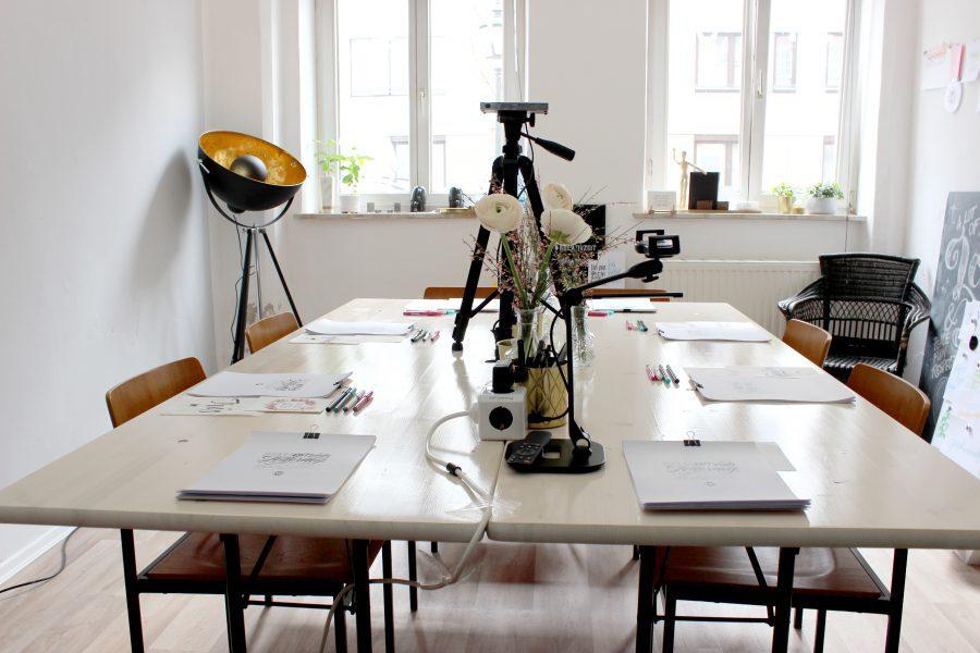 Lettering Workshop Kalligrafie Augsburg