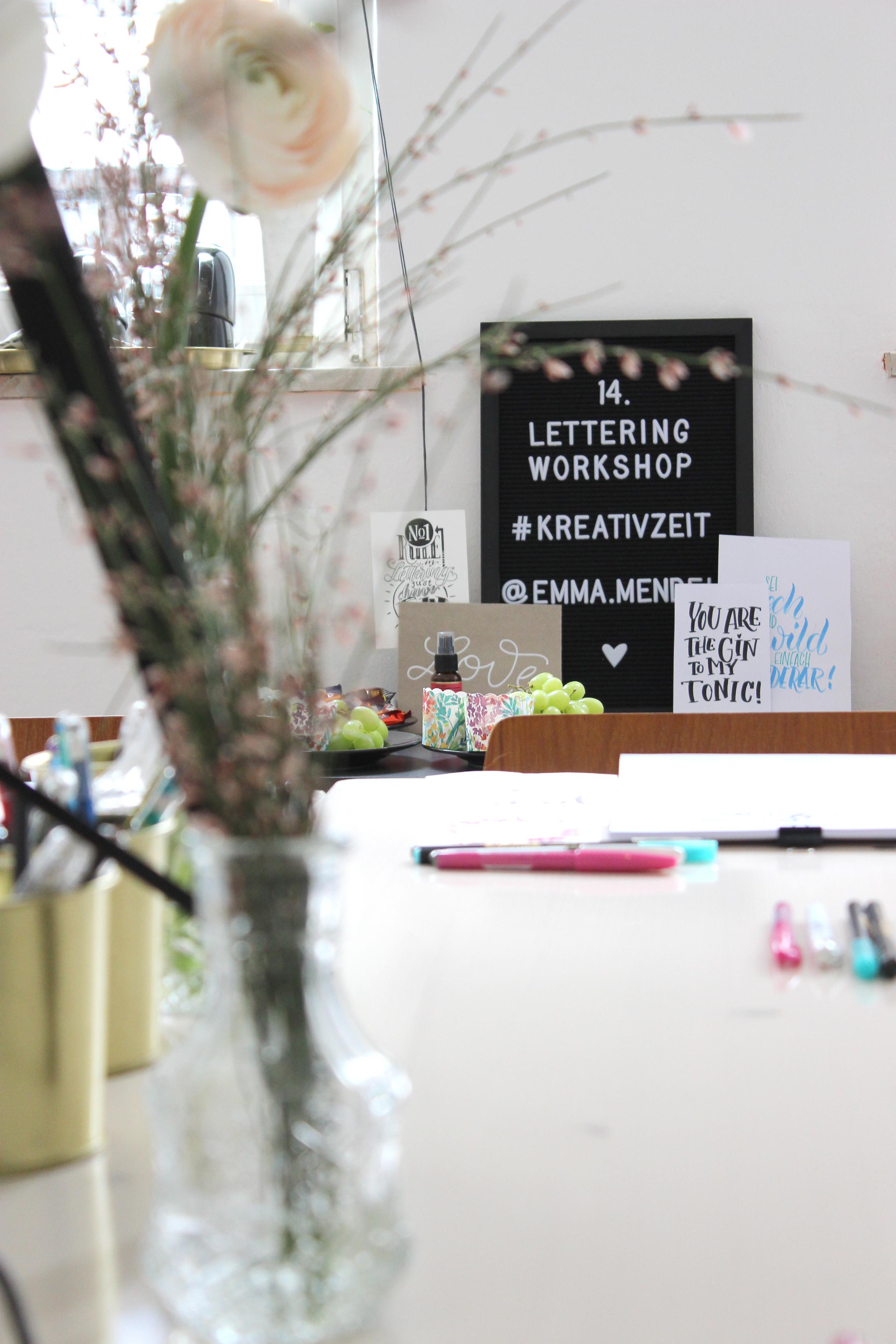 lettering 14. Workshop