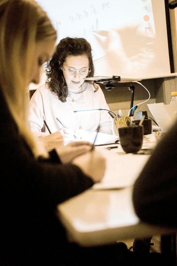 Hand Lettering Workshop Kalligrafie Augsburg Emma Mendel