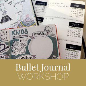 Bullet journal bujo-workshop-augsburg