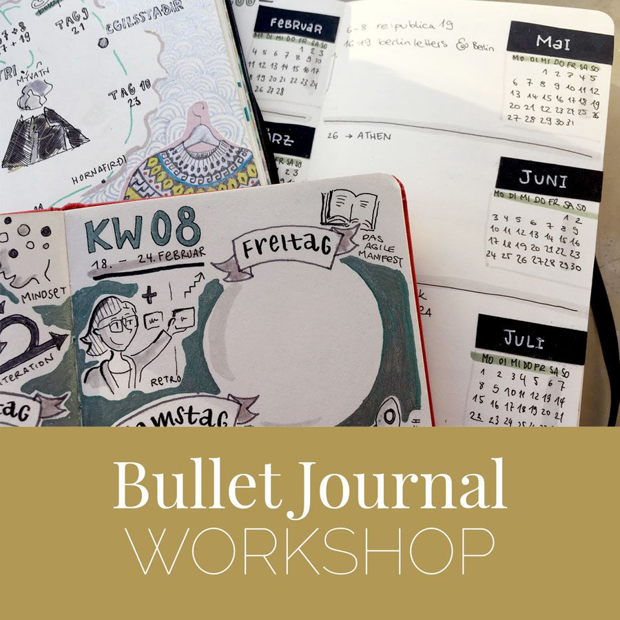Bullet journal bujo-workshop-augsburg