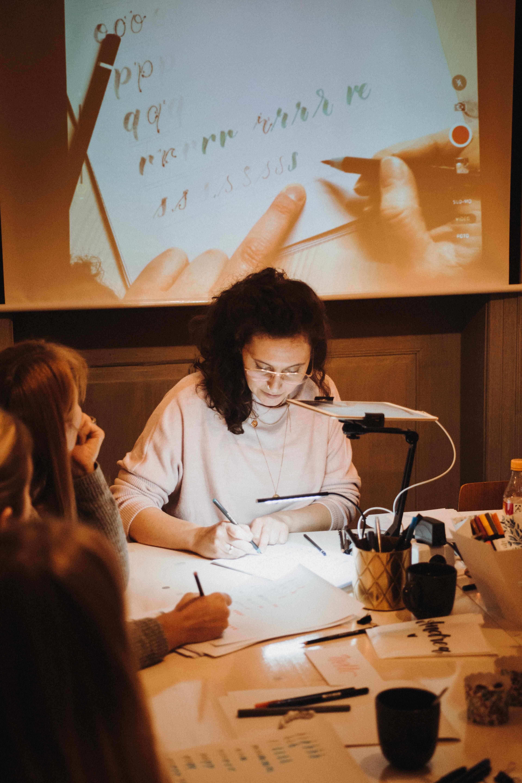 Handlettering kreativ Studio Emma Mendel