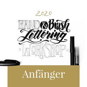 hand Brush lettering Workshop Anfänger