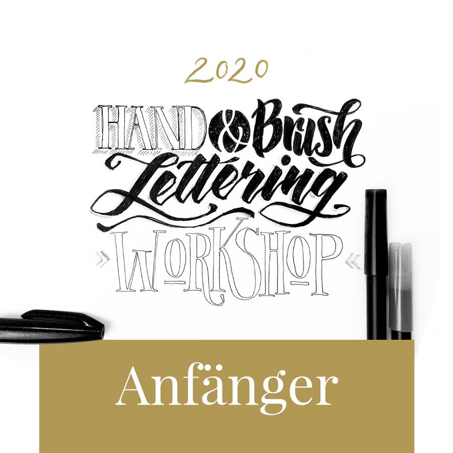 hand Brush lettering Workshop Anfänger